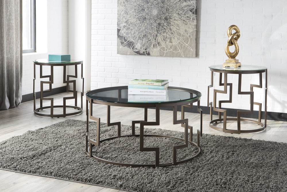 WAREHOUSE PRICE: $249.99 | MONTHLY PAYMENT $5 O.A.C 3PC TABLE SET