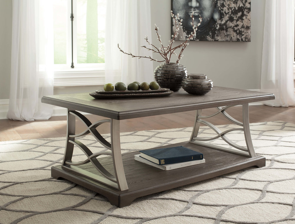 WAREHOUSE PRICE: $299.99 | MONTHLY PAYMENT $6 O.A.C COCKTAIL TABLE