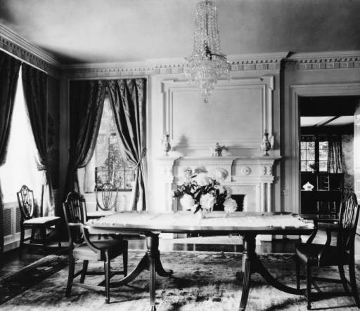 Interior of home, photo courtesy of the McClung Historical Collection