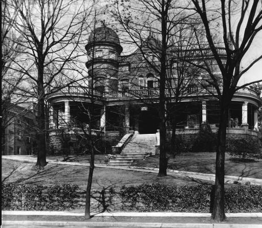 The G.W. Pickle House, circa 1927, courtesy of the McClung Historical Collection