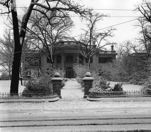 The C.B. Atkin residene on W Main St, courtesy of the McClung Collection