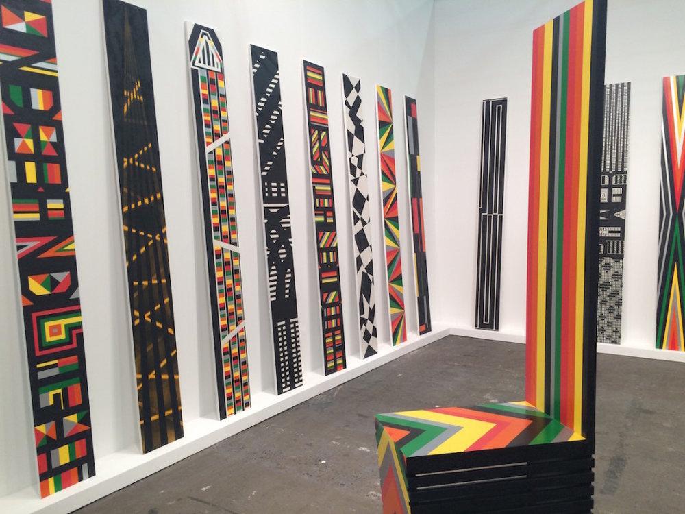 The Armory Art Fair - Rico Gatson at Ronald Feldman Gallery