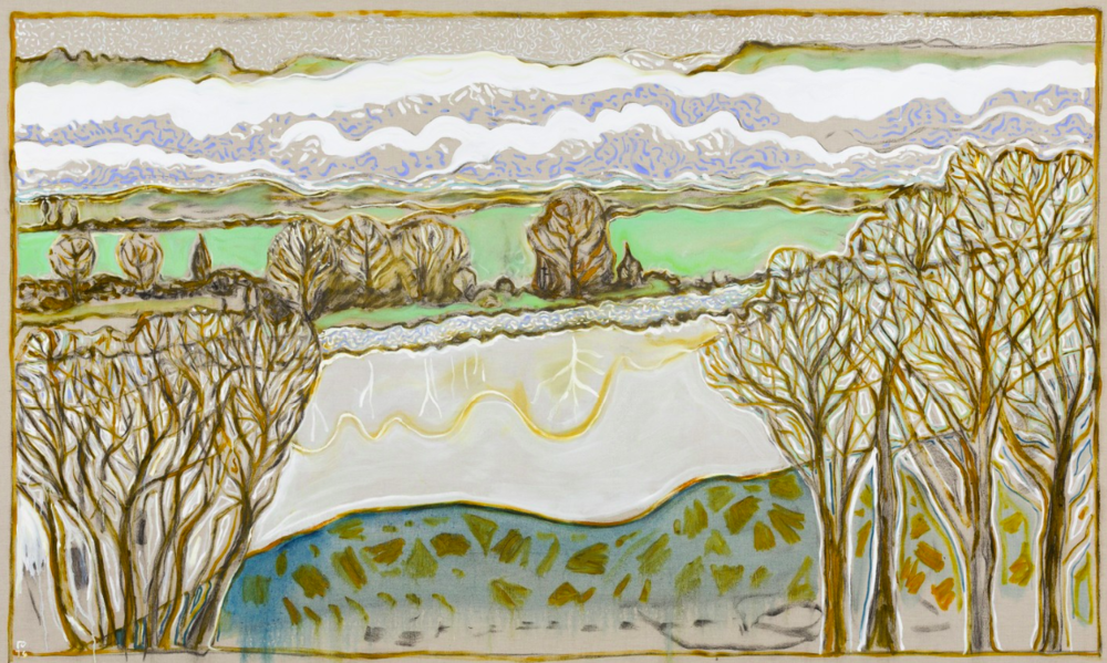 Billy Childish at Lehmann Maupin