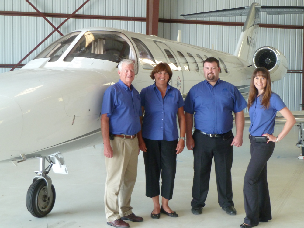 Mark and Janie Oberman, along with their children Mike Oberman and Sarah Oberman Bartush, own Channel Islands Aviation.