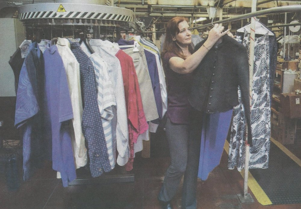 Sasha Ablitt, owner of Ablitt's Fine Cleaners & Launderers, took over the family dry cleaning business in 2003 after her father was planning on retiring from the industry.