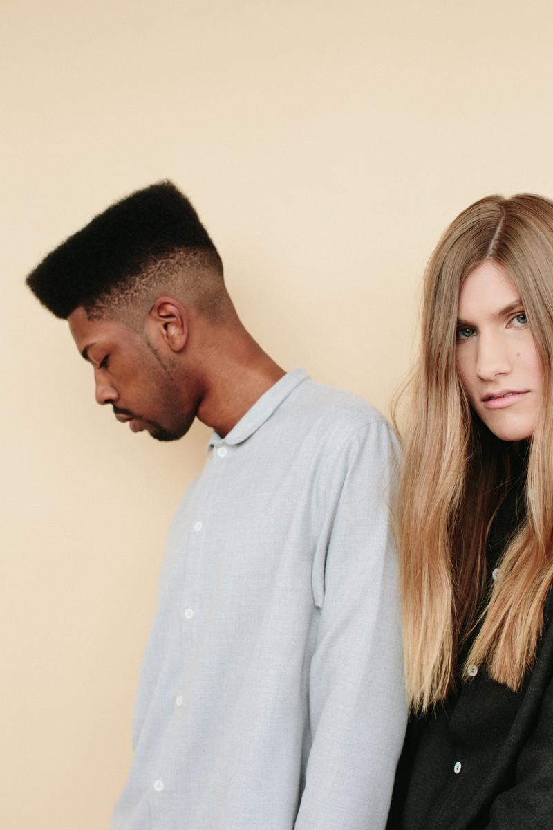 Peter Larson, photo : Tim Freeman + Nico Spiranovich, models, : Haley Lloyd, hair and makeup