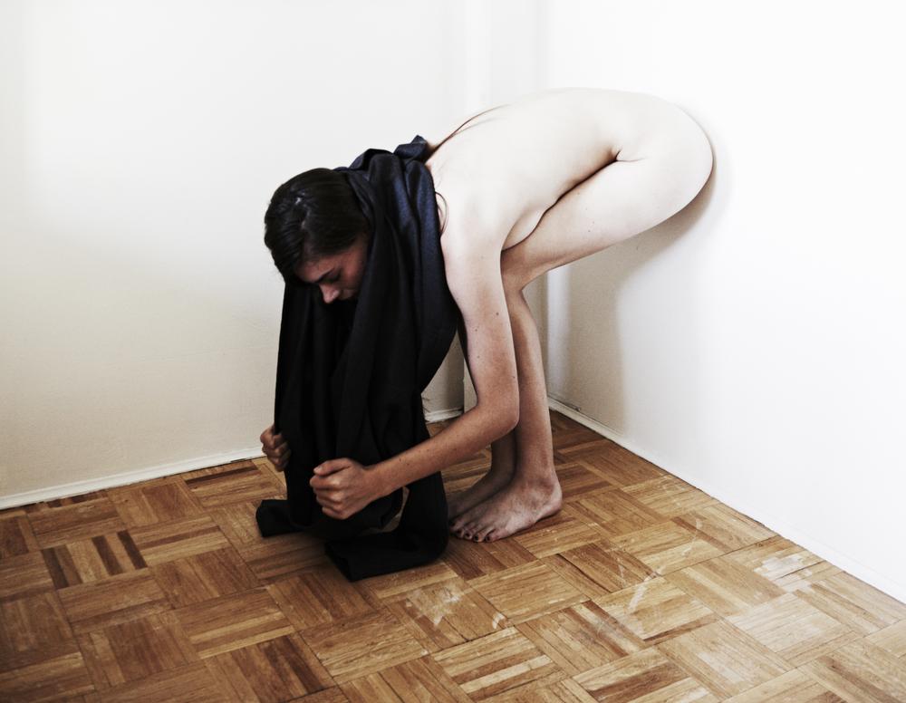 Roeg Cohen, photo : Elizabeth Hatke, artist / model