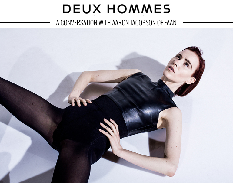 DEUX HOMMES  | Interview with FAAN