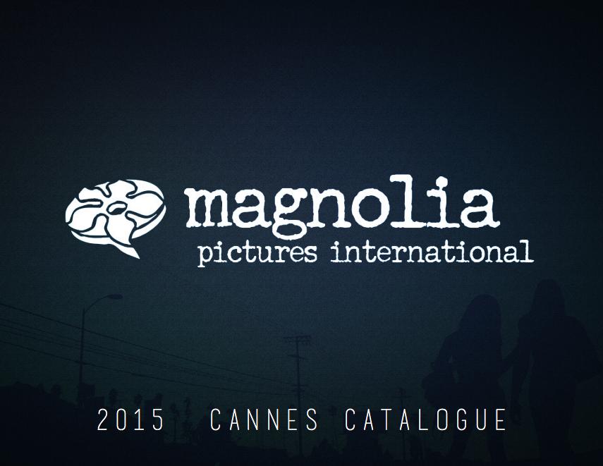 Magnolia Pictures Int'l 2015 Cannes Catalogue - graphic designer