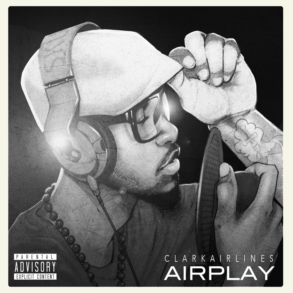 ClarkAirlines - 'Airplay' Album Cover