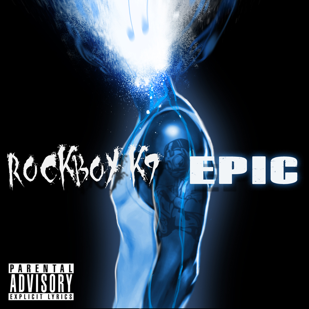 Rockboy K9 - 'Epic' LP Cover