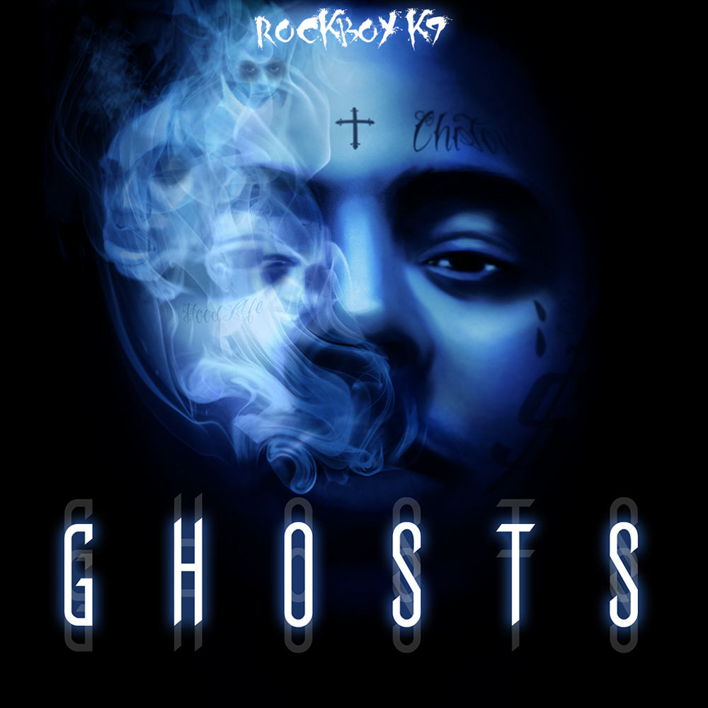 Rockboy K9 - 'Ghosts' Single Cover