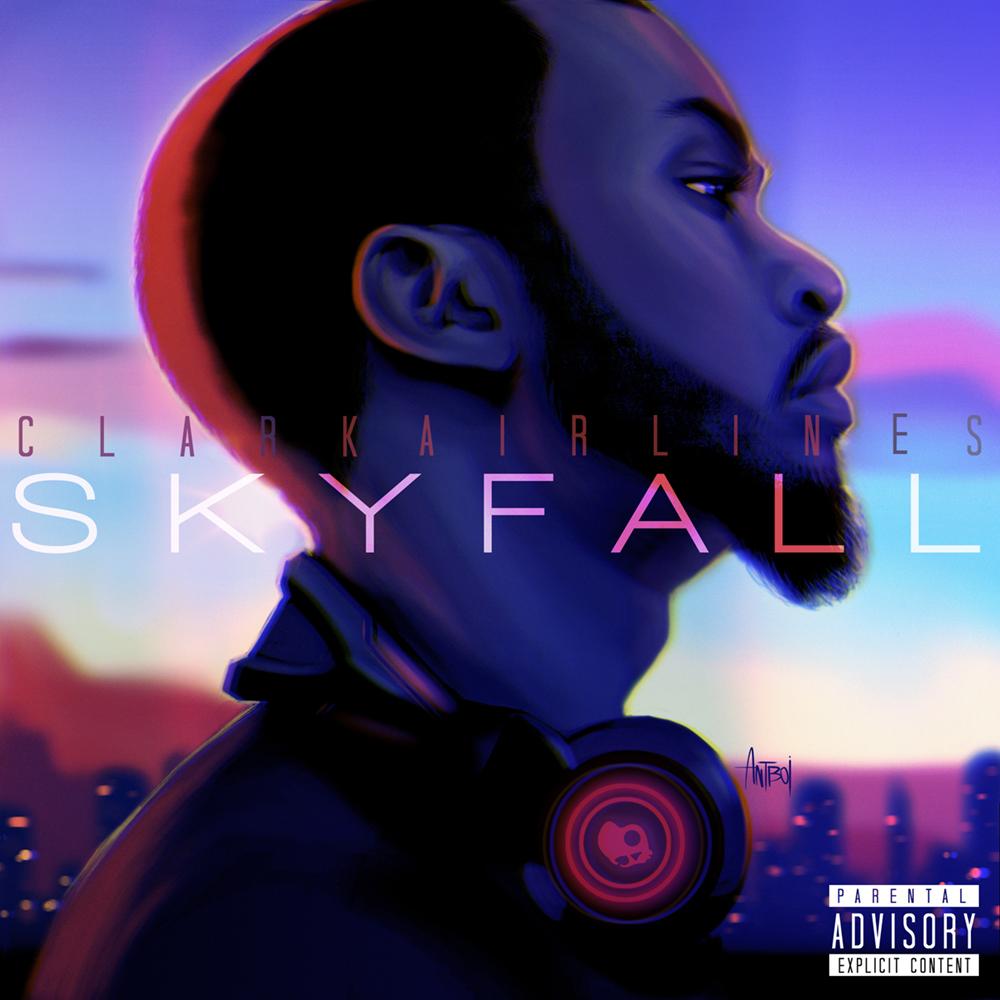 ClarkAirlines - 'Skyfall' Album Cover