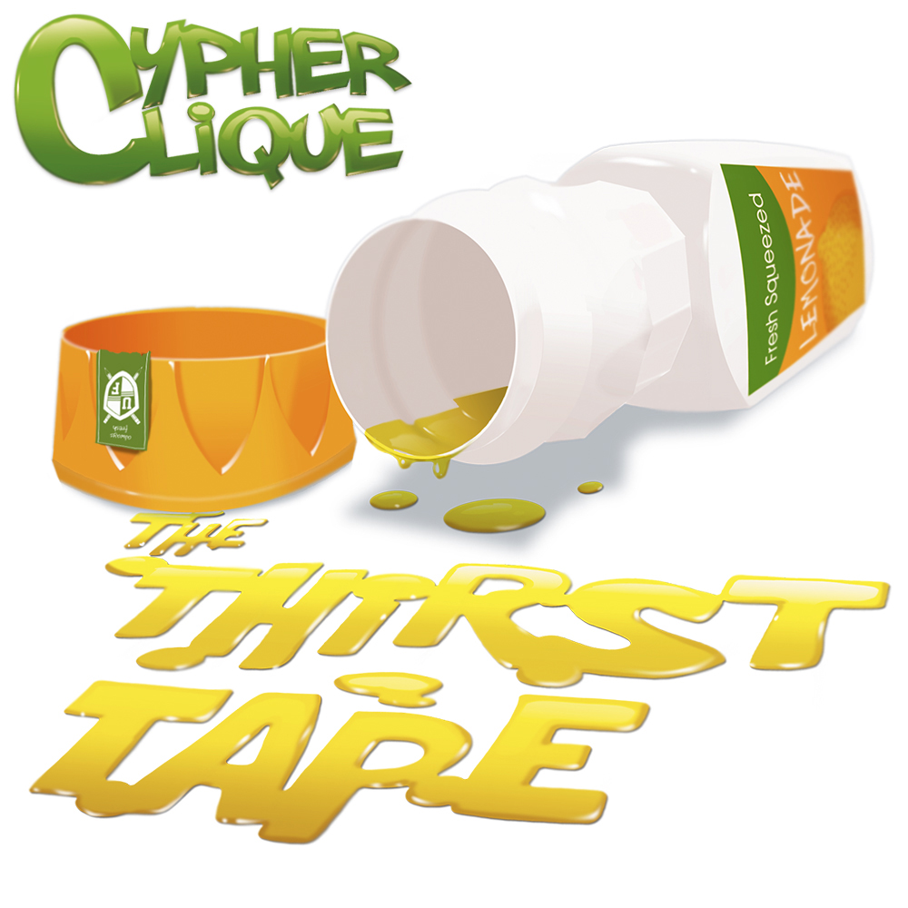 Cypher Clique - 'The Thrist Tape' Album Cover