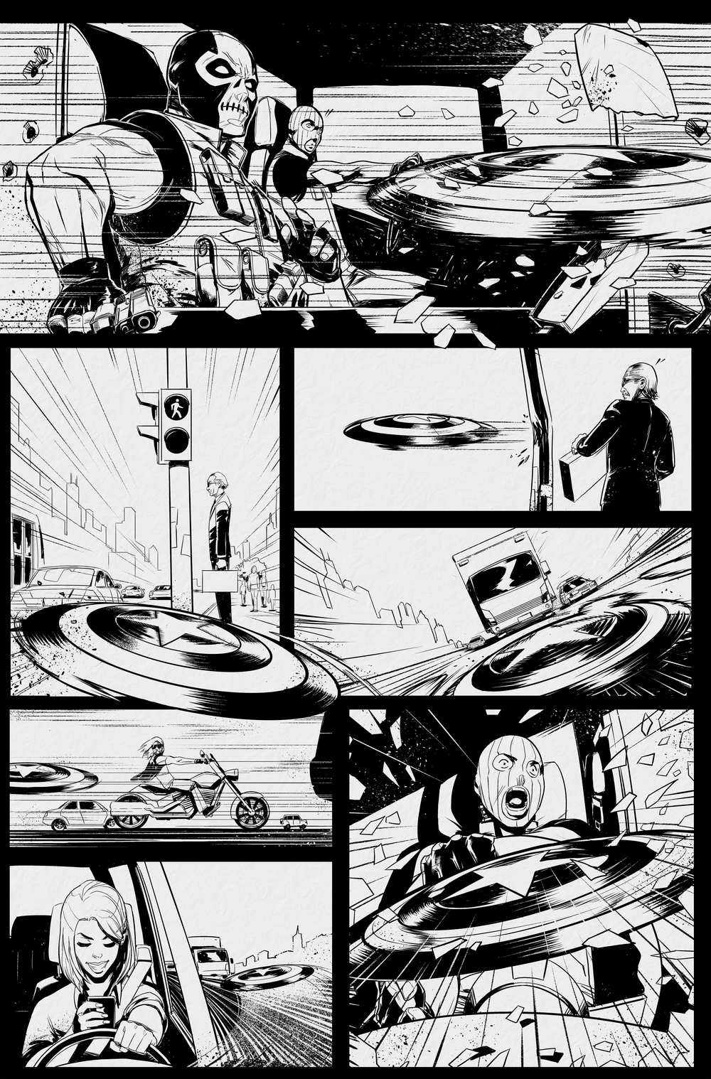 CAPTAIN AMERICA PAGE #2