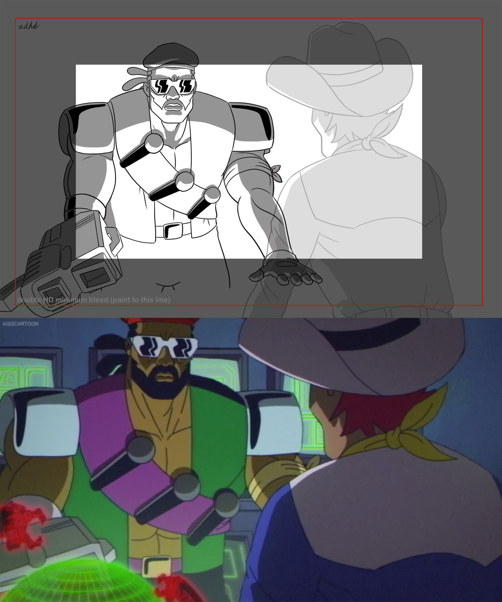 Major Lazer Layout