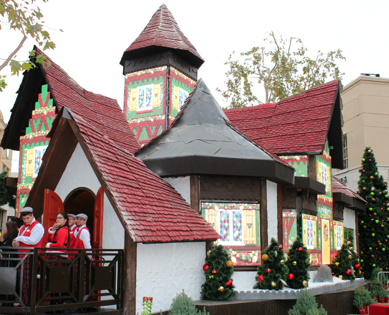 Adventure to Santa at Victoria Gardens, Rancho Cucamonga