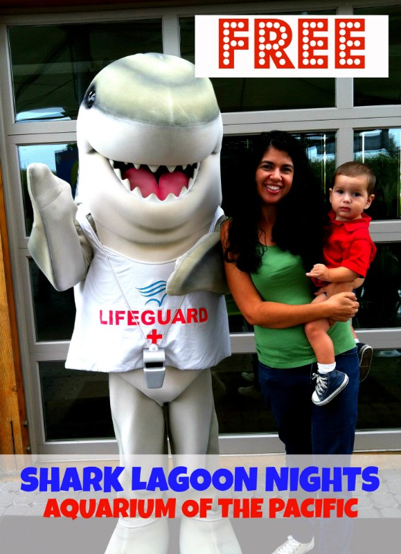 Free Aquarium of the Pacific Shark Lagoon Nights