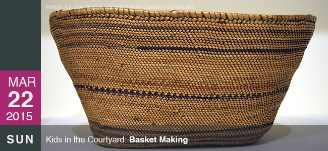 Fowler Museum UCLA basket making