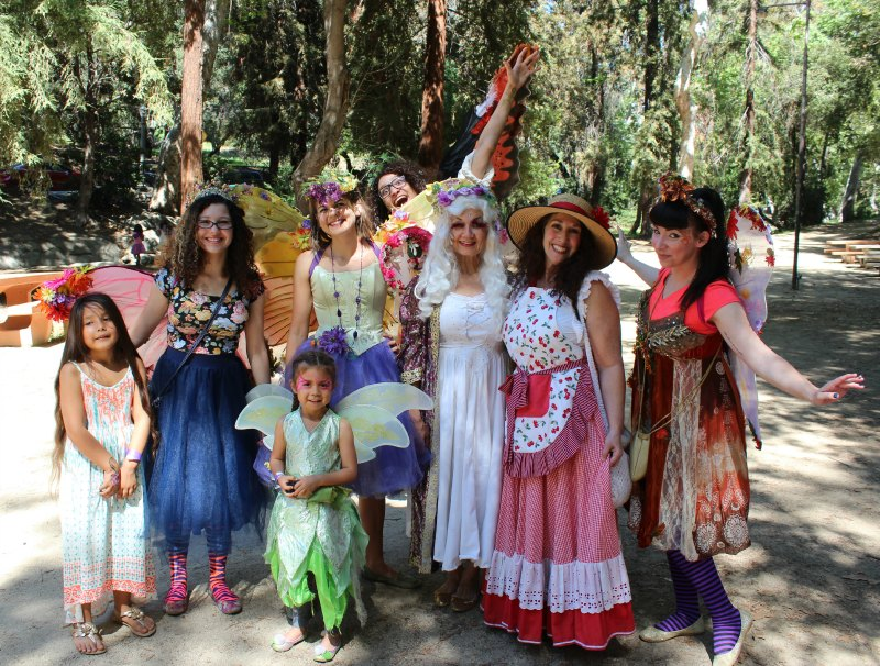 Just some of the A  Faery Hunt Cast of Performers