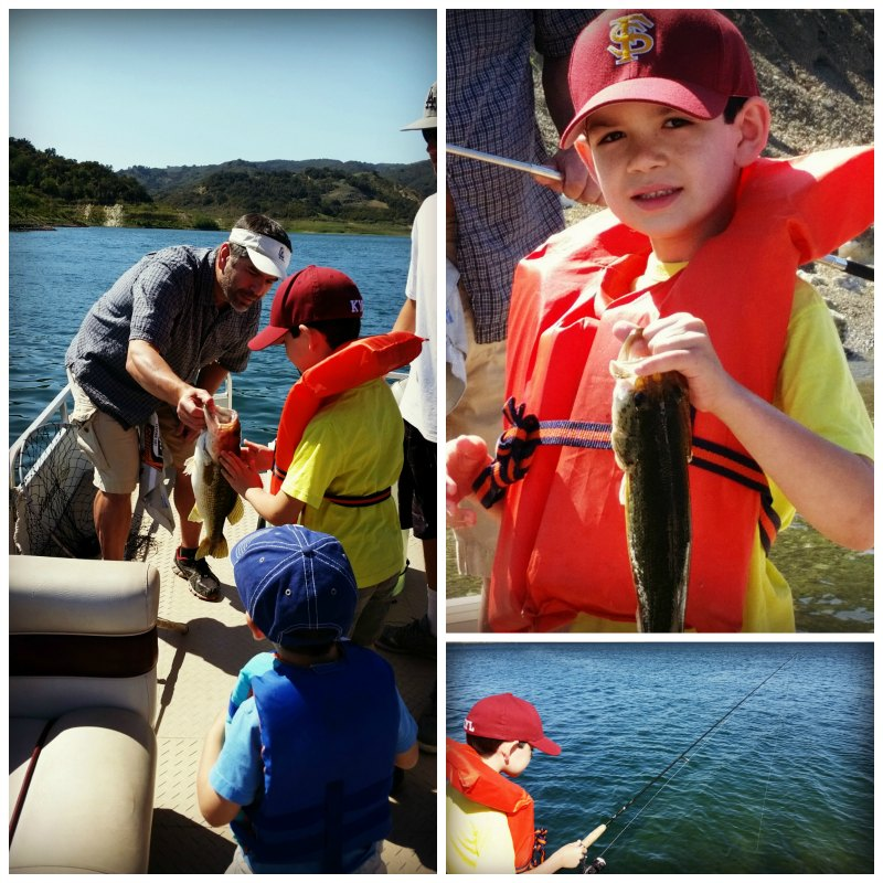 Growing confidence with fishing with Ojai Angler in Lake Casitas