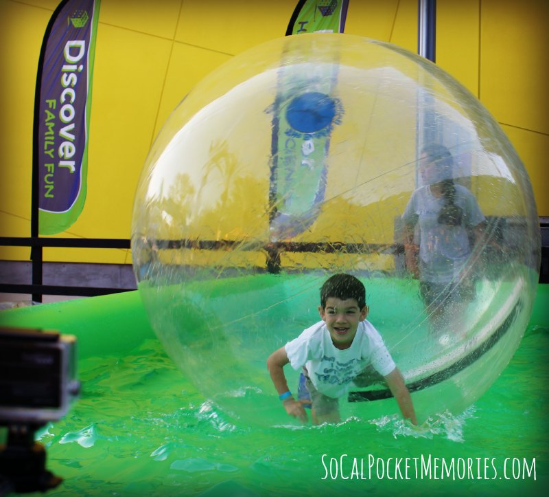 Get inside a bubble at Bubblefest at Discover Cube OC