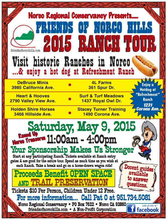 Friends of Norco Hills Ranch Tour