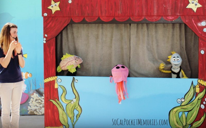 Aquarium of Pacific Puppet Show