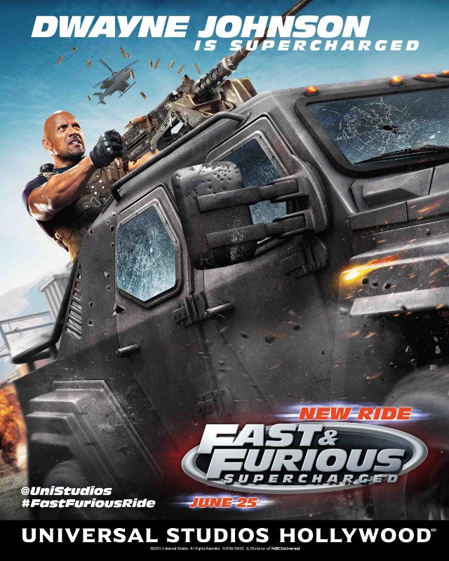 Fast & Furious Supercharged Universal Studios
