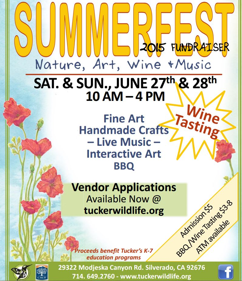 Tucker Wildlife  Sanctuary 6th Annual Summer Fest