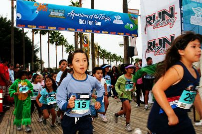 Aquarium Kids Fun Run Aquarium of the Pacific