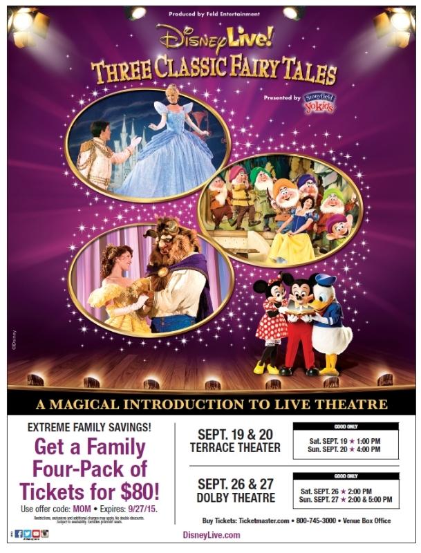 Disney Live Three Classic Fairy Tales