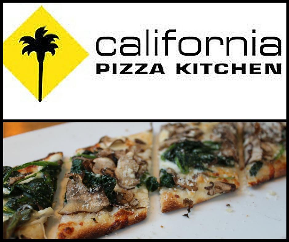 The Shaved Mushroom + Spinach California Flatbread