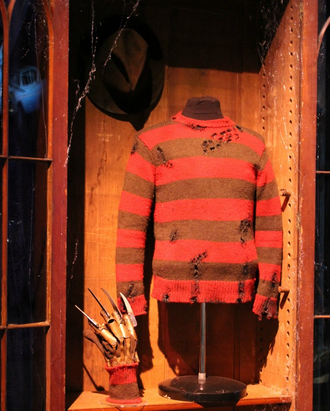 Freddy Krueger Warner Bros Tour