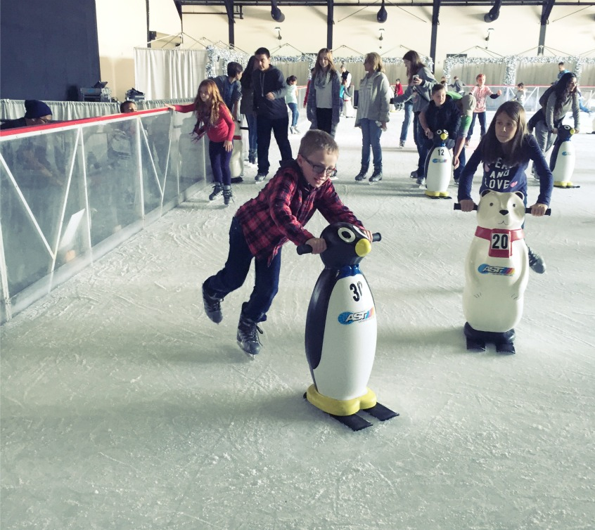 OC Winterfest Ice Skating