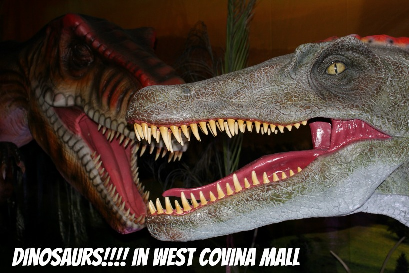 Dinosaur at West Covina Mall