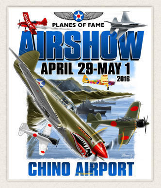 Planes of Fame Air Museum Air Show