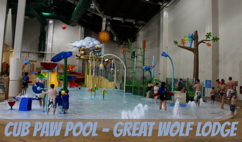 Toddler Pool at Great Wolf Lodge
