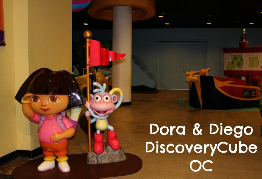 Dora & Diego at Discovery Cube