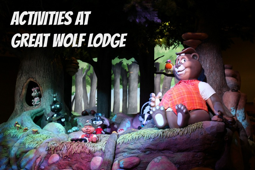 Storytime at Great Wolf Lodge