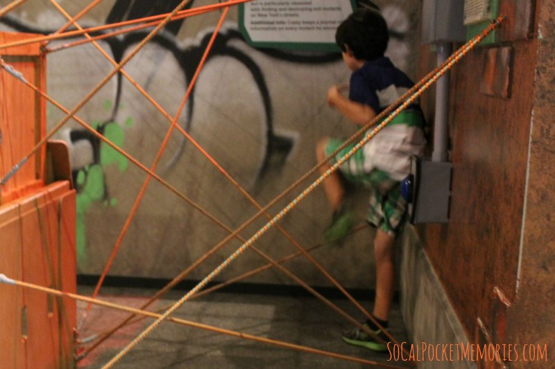 Rope Maze at Discovery Cube Ninja Turtles