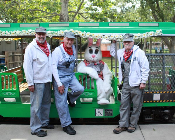 Check out Irvine Park Railroad Easter Event!