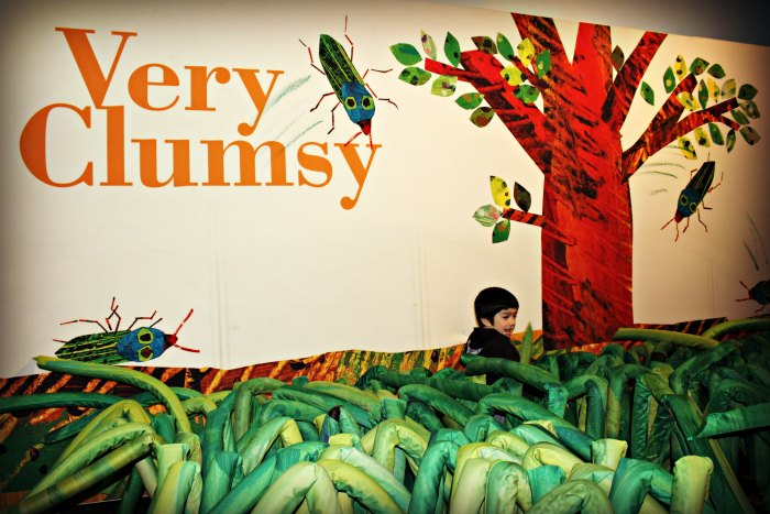 Eric Carle Exhibit at Discovery Cube