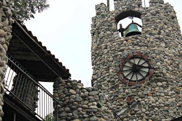 Rubel Castle Clock Glendora