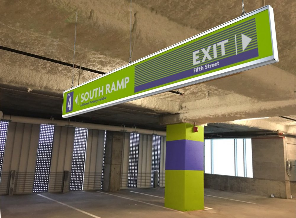 FEATURING:  Parkade   Parking Garage Signage System   Learn more
