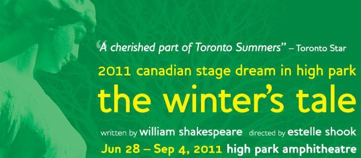 The Winter's Tale Canadian Stage Role: Perdita/Mamillius