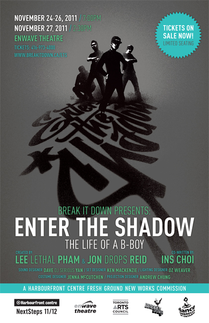 World Premiere Enter the Shadow | Associate Director with Lee Pham and Jon Reid | Harbourfront Centre