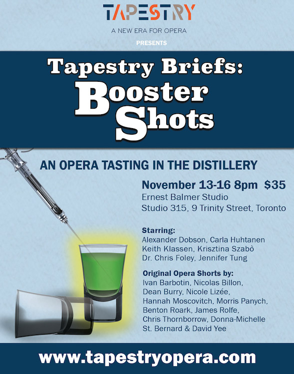 Tapestry Briefs: Booster Shots | Role: Assistant Director