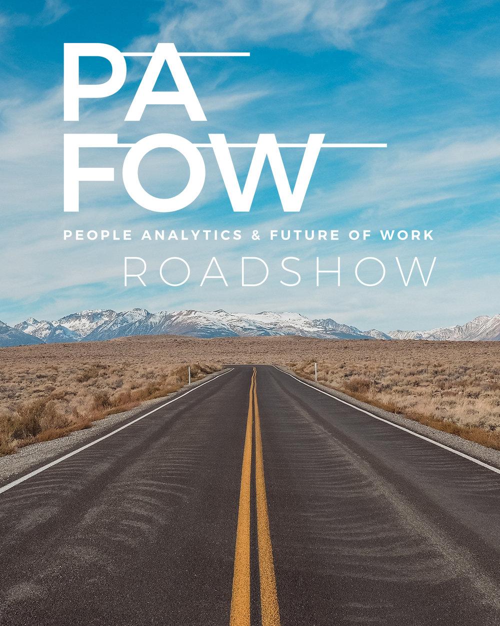 pafow roadshow