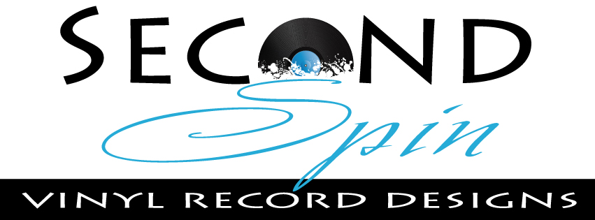 Second Spin Vinyl Record Designs
